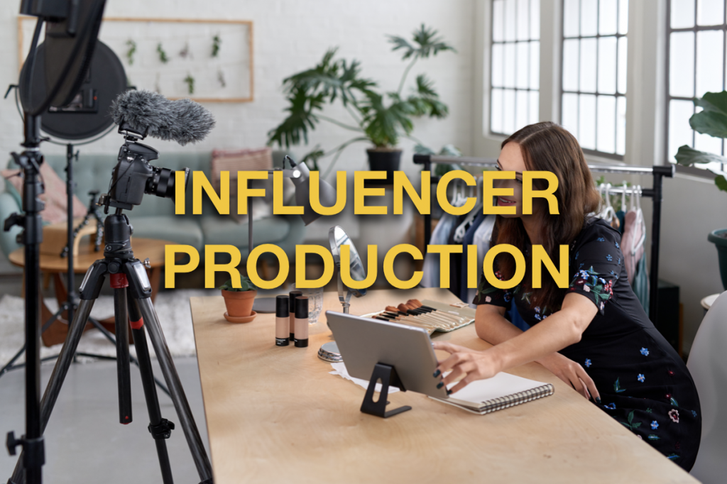 influencer production gear