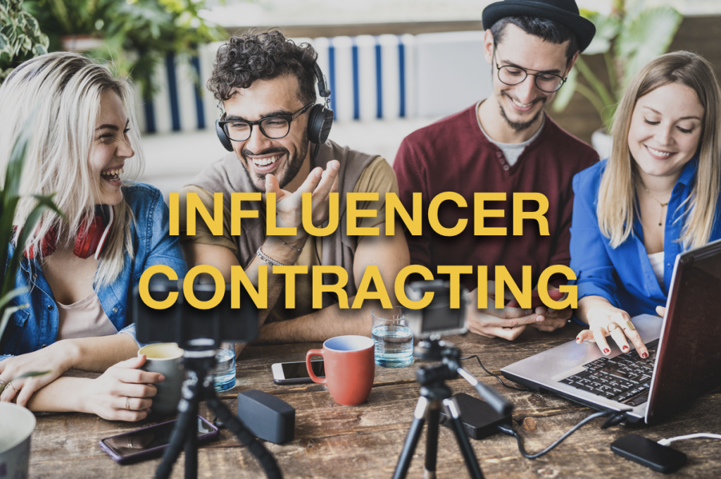 influencer marketing contracts