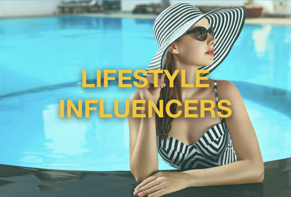 top luxury lifestyle influencers